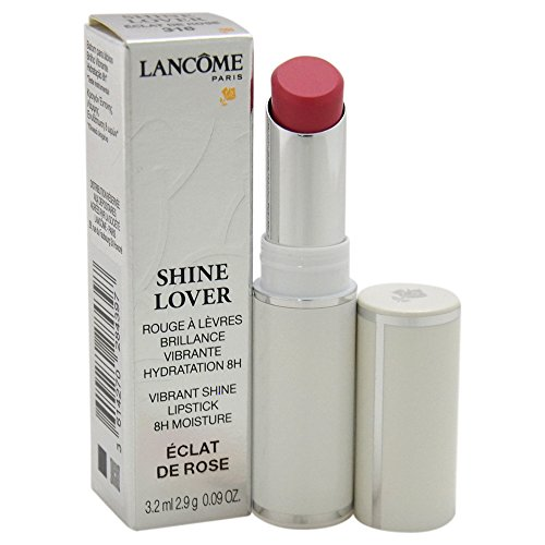 Lancome Shine Lover Vibrant Lipstick, 316 Eclat De Rose, 0.09 Ounce ()