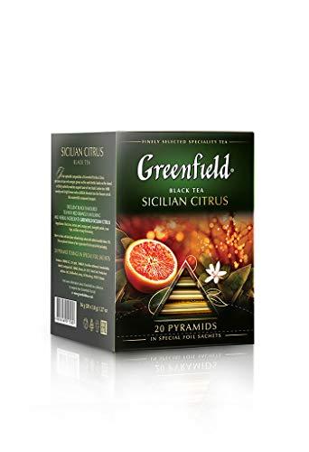 lian Citrus, PYRAMID COLLECTION, Black tea, 20 Count ()