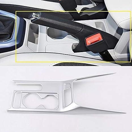 FFZ Parts Carbon Optik Mittelkonsole Becherhalter Blende Abdekung Rahmen Passend F/ür T-Roc TDI TSI Rline
