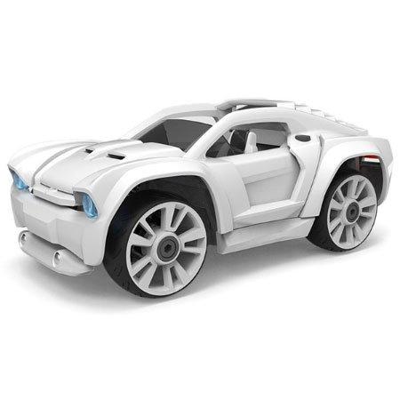 Build Your Car >> Amazon Com Modarri Delux S2 Paint It Car Build Your Car Kit Toy Set