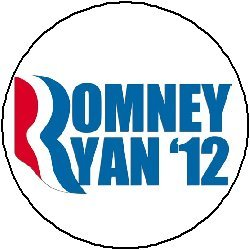 MITT ROMNEY / PAUL RYAN '12 LOGO Mini 1.25