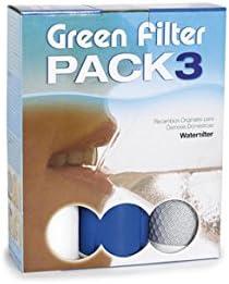 Tratamientos del agua vdf M110305 - Recambio 3 filtro green filter - 763300: Amazon.es: Bricolaje y herramientas