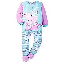 Komar Kids Girls' Peppa Pig Blanket Sleeper, Blue, 2T