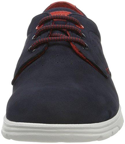 Panama Jack Domani, Zapatos de Cordones Oxford para Hombre Azul (Navy)