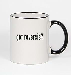 got reversis? - 11oz Black Handle Coffee Mug