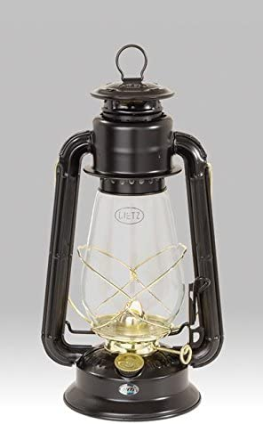 Dietz 20 Junior Oil Burning Lantern Black with Gold