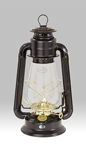 Dietz 20 Junior Oil Burning Lantern Black with Gold