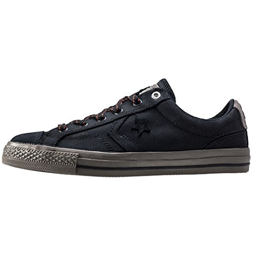 Converse Star Player Premium Leather Ox Hombre Zapatillas Negro Schwarz