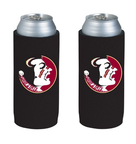 Ncaa 2013 College Ultra Slim Beer Can Holder Koozie 2 Pack  Florida State Seminoles