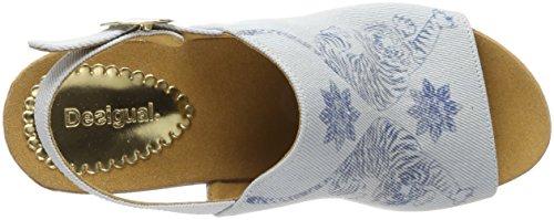 Desigual 5098 con Tigers Shoes para Sandalias Azul Swan Plana Starlight Plataforma Blue Mujer rUwrHvq