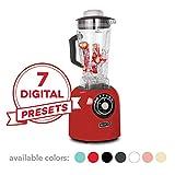 Dash Chef Series 64 oz Blender with Stainless Steel Blades + Digital Display