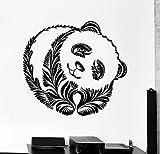 wall decals beer - Wall Decal Panda Beer Animal Ornament Tribal Mural Vinyl Decal VS3195