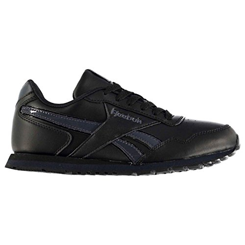Skechers Ninos Chicos Mega Blade Junior Zapatillas Velcro Running Zapatos Black/Smoke