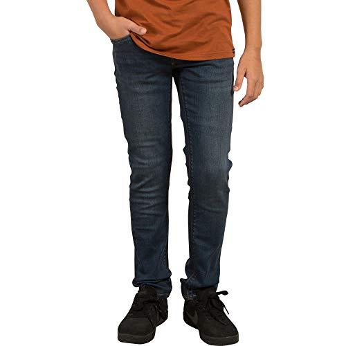 (Volcom Big Boys' Solver Tapered Jeans, Dust Bowl Indigo, 26)