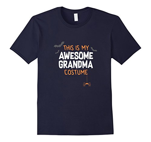 Mens Awesome Grandma Costume Shirt, Funny Cute Halloween Gift 2XL (Awesome Costumes For Men)