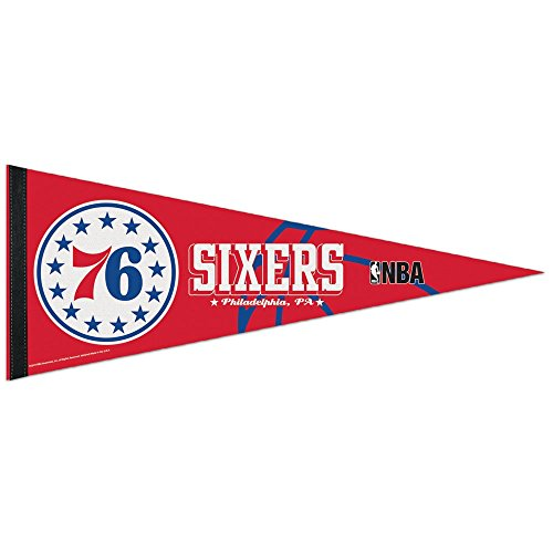 fan products of NBA Philadelphia 76ers WCR63843915 Carded Classic Pennant, 12