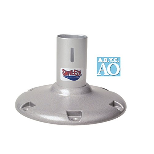 attwood 238913-1 238 Series Fixed Height Bell Pedestal - 13