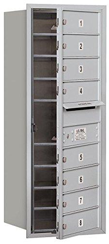 Salsbury Industries 3710S-08AFU 4C Horizontal Mailbox, (4c Horizontal Mailboxes Box)
