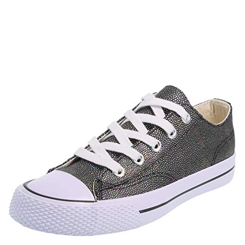 Airwalk Women's Legacee Sneaker Black Texture
