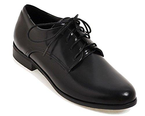 Lacets 5 HiTime Noir 36 Femme Chaussures Noir à wAq07aq4