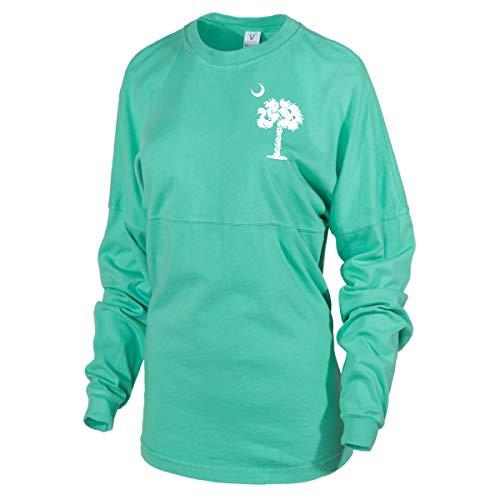 Charleston Cougars Baseball - Official NCAA College of Charleston Cougars C of C Women's Long Sleeve Spirit Wear Jersey T-Shirt