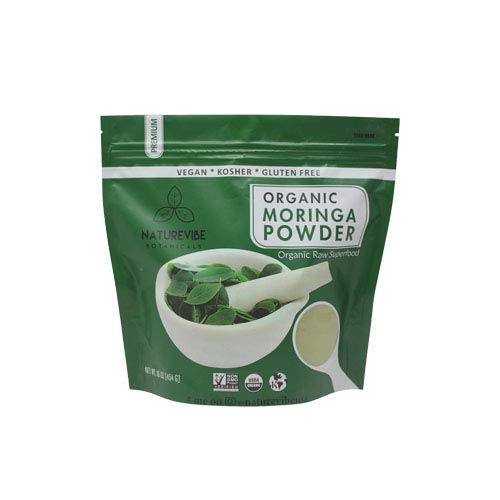 Organic Premium Moringa Powder by Naturevibe Botanicals (1 Lb), Non GMO Verified and Gluten Free | Multi-Vitamin | Great in Drinks and Smoothies | Supports Weight Loss. (Benefits Of Moringa Leaves In Weight Loss)