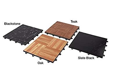 "IncStores - Modular Grid - Loc Dance and Garage Flooring 12"" x 12"" Tiles Sold Individually"