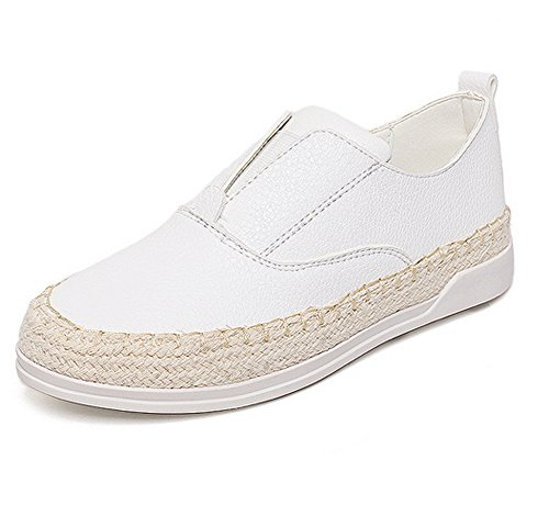 Womens Ground Flatform Soft White Assorted Ladola Casual Cushioning nbsp;Color Urethane Shoes Walking Zqd7wO