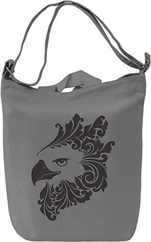 Eagle Borsa Giornaliera Canvas Canvas Day Bag| 100% Premium Cotton Canvas| DTG Printing|