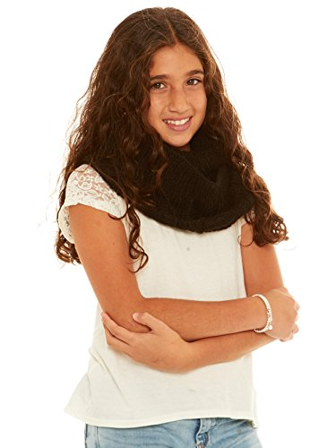 Crush Girls Chunky Loose Knit Fall Winter Loop Infinity Fashion Scarf