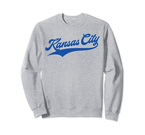 Kansas City Baseball | KC Pride Royal Blue Vintage Gift Sweatshirt ()