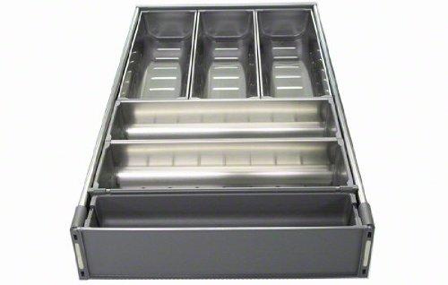 blum tandem orga line wide drawer cutlery set for 21 wide cabinets nickel. Black Bedroom Furniture Sets. Home Design Ideas