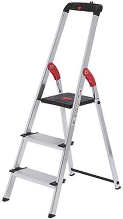 Escalera Escalera plegable pequeña / doméstica Escalera plegable 3 escalones Plegable engrosamiento Escalera interior móvil Escalera de aleación de aluminio de alto valor 4 opcional (color : C) : Amazon.es: Hogar