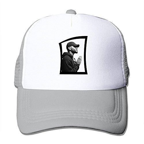 Handson Unisex-Adult Flat Billed Bryson Tiller Pray Sports Hats Caps Ash