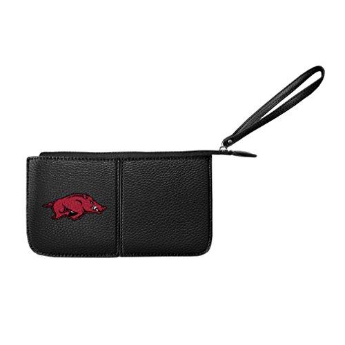 Arkansas Card Credit Razorbacks - NCAA Arkansas Razorbacks Pebble Wristlet