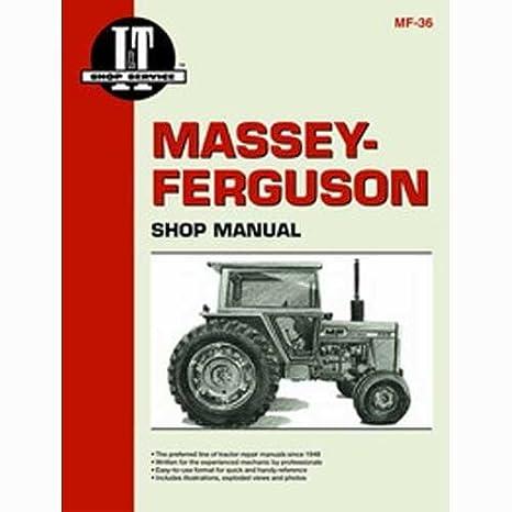 Amazon Com All States Ag Parts I T Shop Manual Massey Ferguson 285