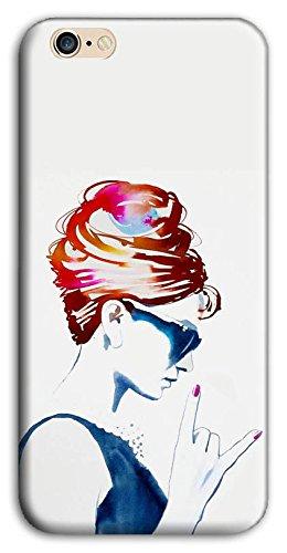 Mixroom - Cover Custodia Case In TPU Silicone Morbida Per Apple Iphone 7 M598 Audrey Hepburn Rock