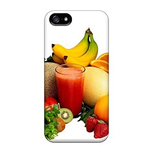 Iphone 5/5s Case Slim [ultra Fit] Fruits For A Healthy Life Protective Case Cover