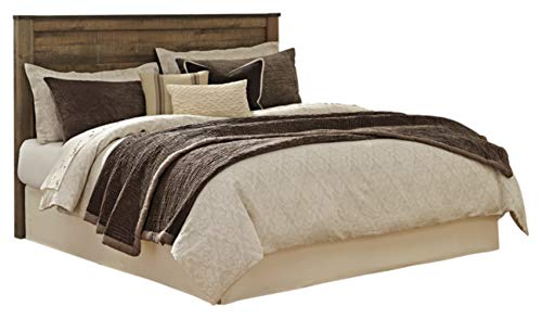 - Ashley Furniture Signature Design - Trinell King/Cal King Panel Headboard - Component Piece - Brown