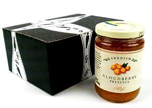 Hafi Cloudberry Preserves, 14.1 oz Jar in a BlackTie Box