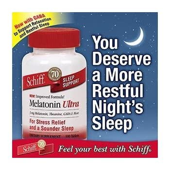 Schiff Melatonin Ultra Sleep Support, 300 Tablets each (pack of 2)