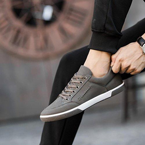 Challenge Inglese Scarpe Grigio da Scarpe Uomo da Scarpe Stile Autunno Uomo Eleganti Sportive Sneakers Stivali Ginnastica Scarpe Scarpe Basse Unisex r1UqrwnH