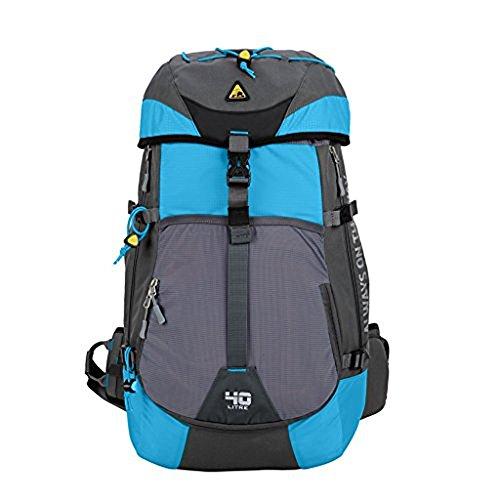 Large Internal Frame - Kimlee 40L Large Back Packs Mountaineering Bag Water Resistant Nylon Travel Hiking Daypack,Internal Frame Backpacks