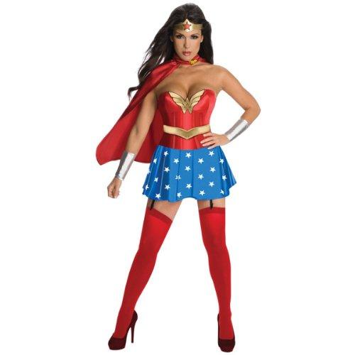 Wonder Woman Corset Adult Costume - Small