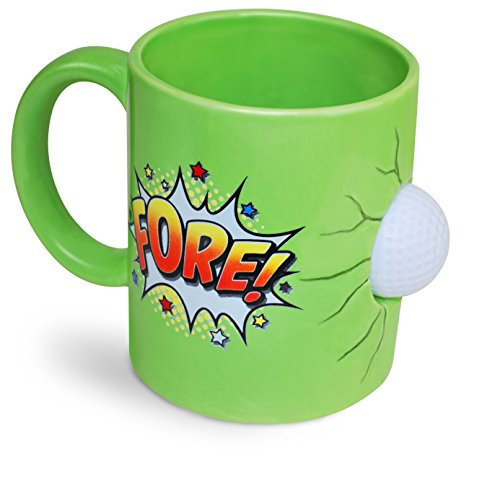 BigMouth Inc Fore Golfers Mug
