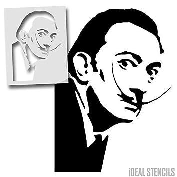 Salvador Dali Pochoir Célèbre Façade Art Mural Peinture Et Sur