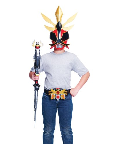 [Power Ranger Shogun Helmet] (Power Ranger Samurai Costumes)