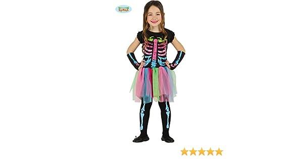 Niño tutú de Halloween disfraz de esqueleto