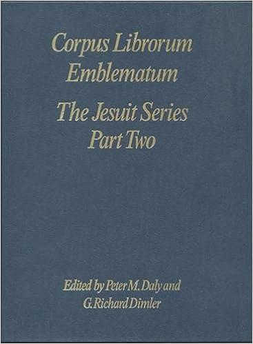The Jesuit Series (Corpus Librorum Emblematum)