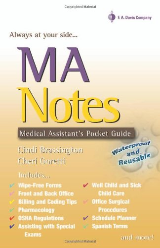 MA Notes: Medical Assistant's Pocket Guide